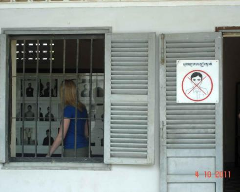 Haunting faces of thousands of Cambodian people at  Tuol  SLENG