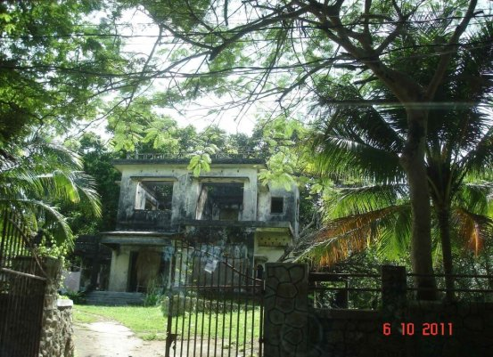 Kep seaside resort, burnt out Villa's a legacy of the Pol Pot Regime
