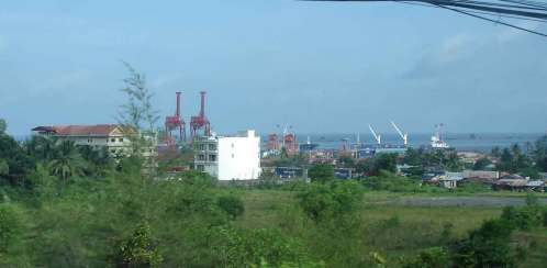 View-of-Sihanoukville Deep Sea Port