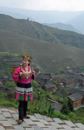Mao-women-in-traditional-co