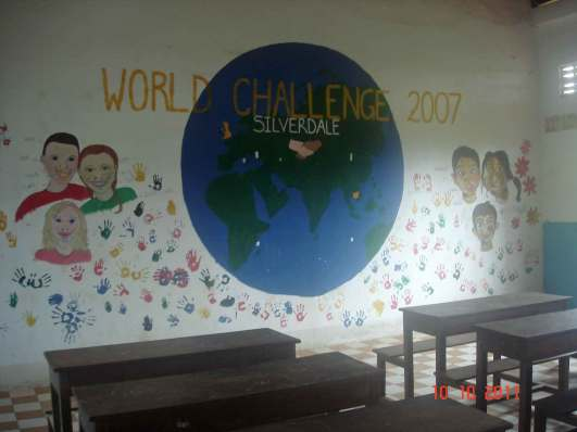 La Maison de Coco - classroom - the province Battambang