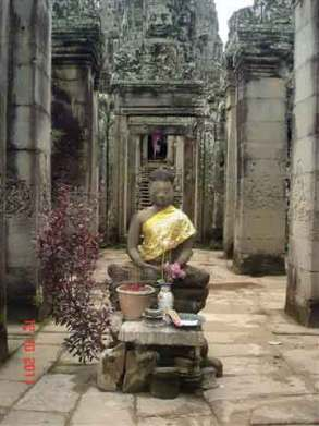 Bayon buddha Statue King of Khmer Kingdom
