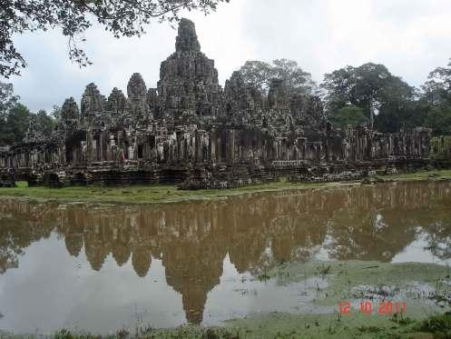 Pond reflections- Bayon - Kingdom of Khmer Kings