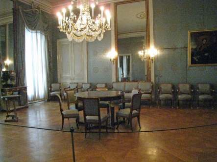 Blue Salon-Nymphenburg Palace-romantic road