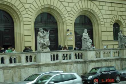 Bavarian State Library, Munich,sightseeing-romantic road Germany