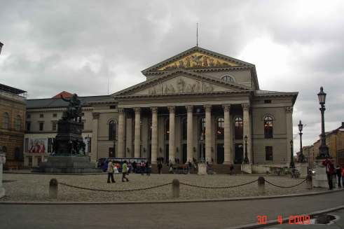 Bavarian State Opera and Ballet, sightseeing Romantic road Germany