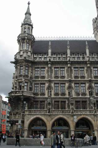 Bavarian New Town Hall - Munich Romantic Road Germany