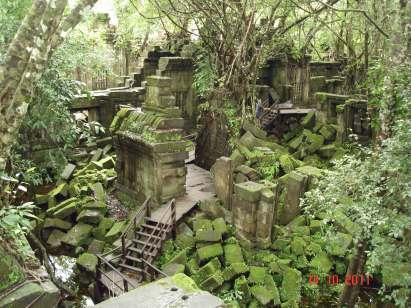 'Blue Ruins' Beng Mealea Siem Reap