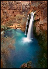Havasu Falls, Havasu Canyon. Grand Canyon National Park ( color)