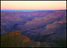 View from Point Sublime, sunset. Grand Canyon National Park ( color)