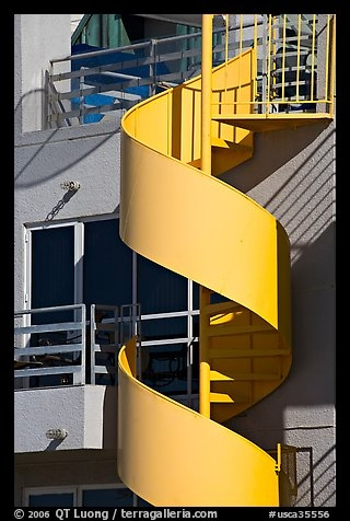 Picture Photo Detail Of Outdoor Spiral Staircase Santa Monica   Spiral Staircase Los Angeles   Old Fashioned   Most Efficient   Double Spiral   Rome   Topanga Canyon