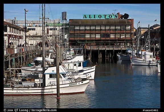 Lunch Fishermans Wharf San Francisco