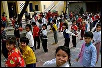 School yard. Hanoi, Vietnam
