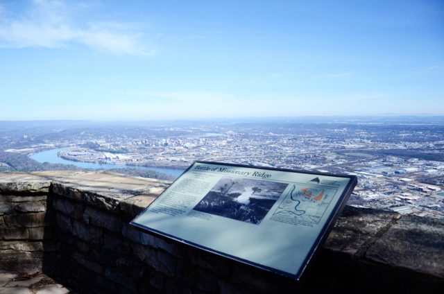 Chickamauga Battlefield Missionary Ridge Lookout Mountain Battlefield and Point Park Moccasin Bend