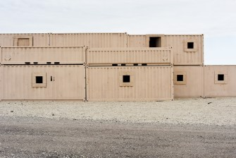 18. Stepped Housing, Live Fire Village #2, Fort Riley, KS