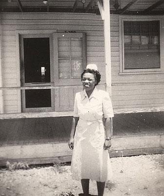 Vivian Reeves at Fort Huachuca, 1944 or 1945