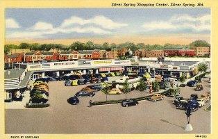 Silver Spring Shopping Center, c. 1946