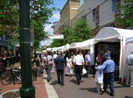 Arts and Crafts Fair on Ellsworth