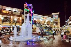 Silver Plaza Fountain