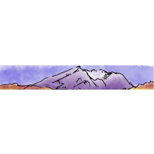 Mount St. Helens in Profile