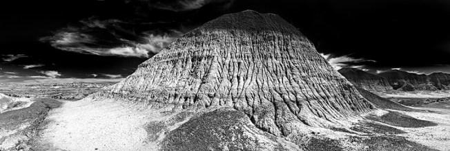 Eroded Mudstone, Arizona, 2012