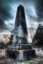 Eroded Obelisk, Newton, Massachusetts, 2012