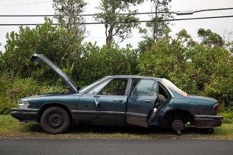 Abandoned Car, 2012