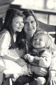 Sandra Steingraber and her children