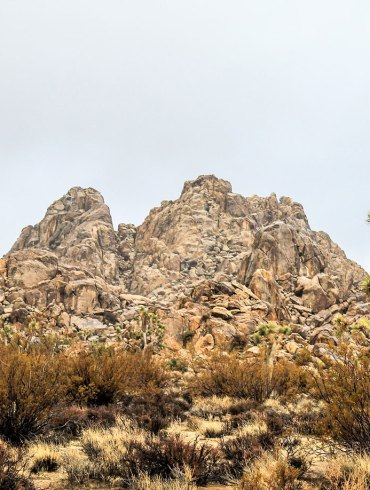 A hill in the Mojave Desert