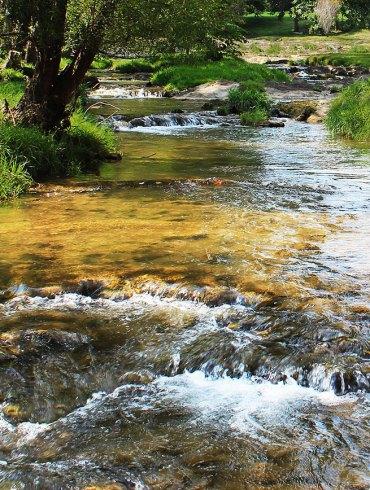 Shenandoah river flows