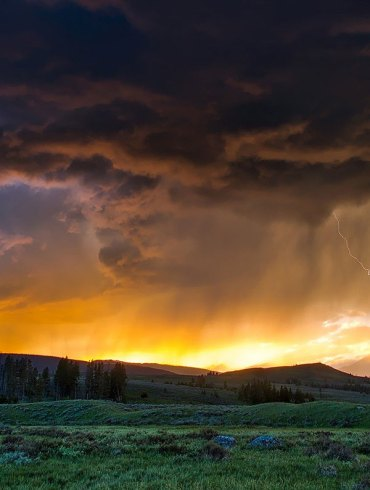 Storm at Yellowstone