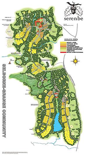 Serenbe site plan