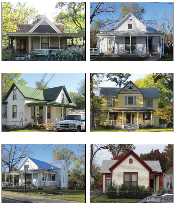 Prow typology houses