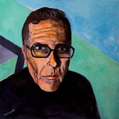 Self-portrait by Allen Forrest.