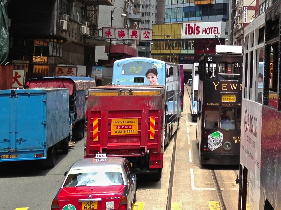Traffic congestion has been a fact of life in many parts of Hong Kong from long before Umbrella Movement demonstrations.