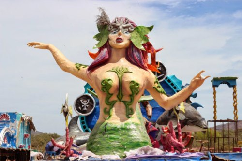 Uncarnival mermaid