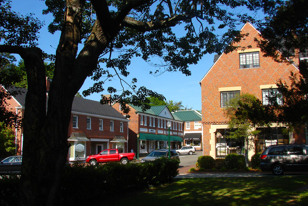 Pinehurst streetscape