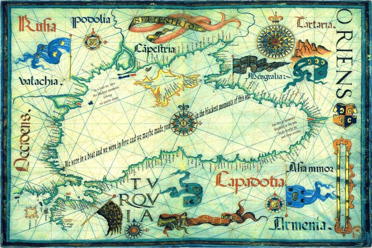 Black Sea Maybe, a modified map