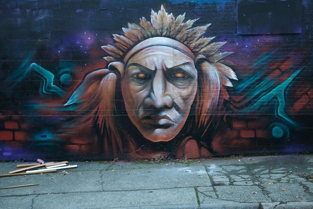 Wall mural by Jake Stevens