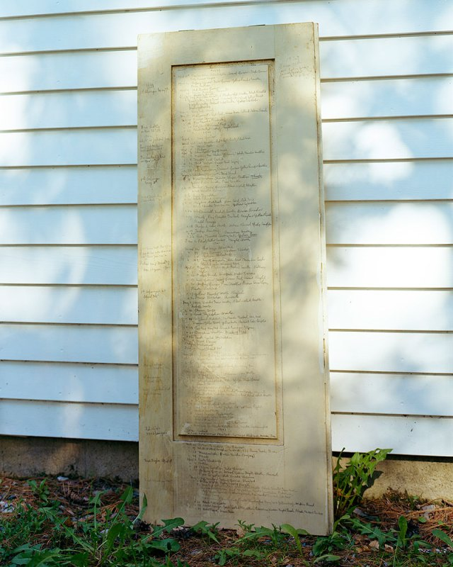 Bird Door, 2007, by Barbara Bosworth.