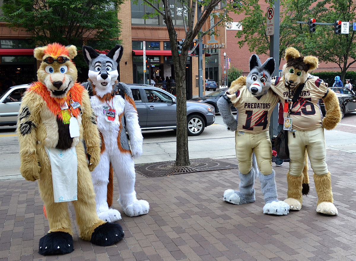 Furries at Anthrocon