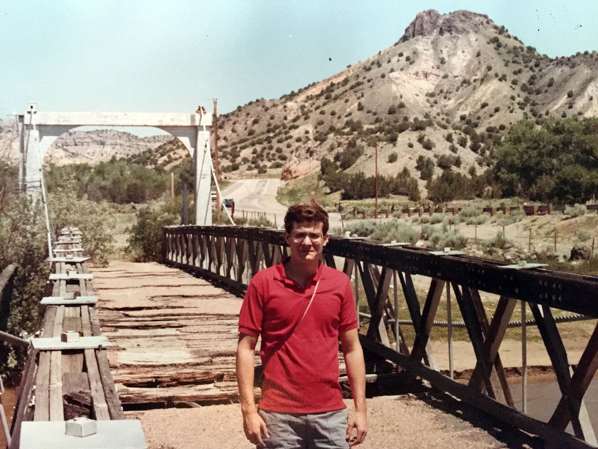 John Canaday in Los Alamos