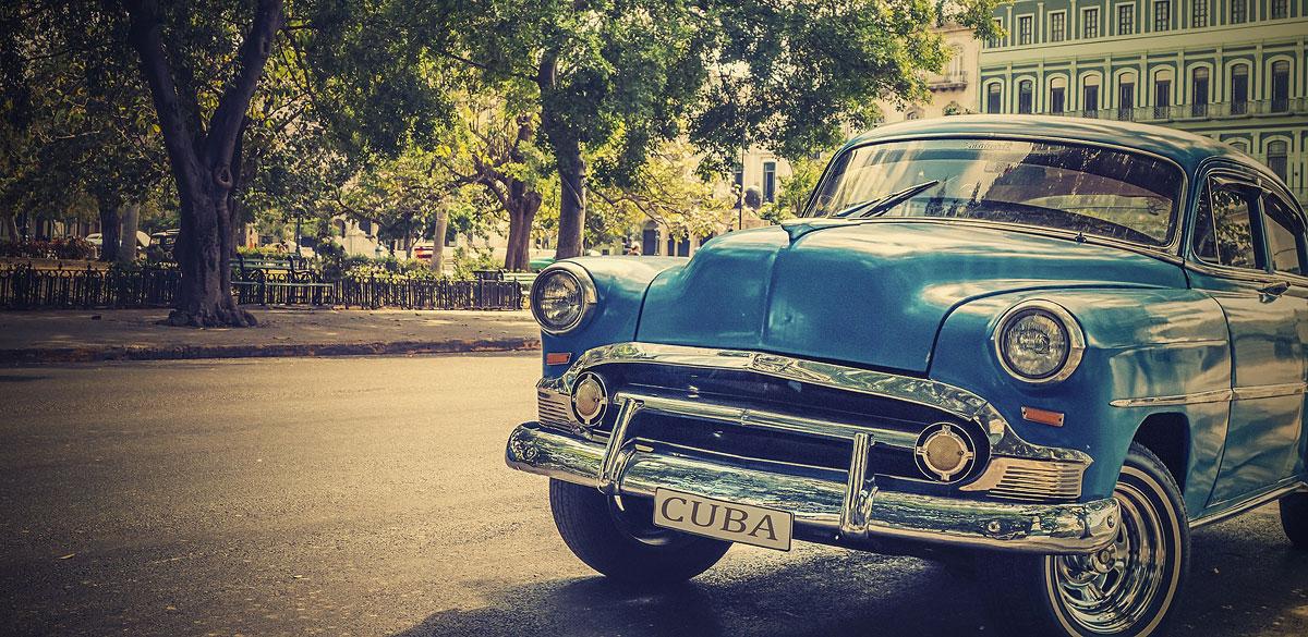 Car in Havana, Cuba