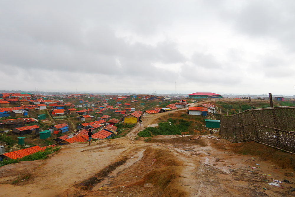 Kutupalong Rohingya refugee camp