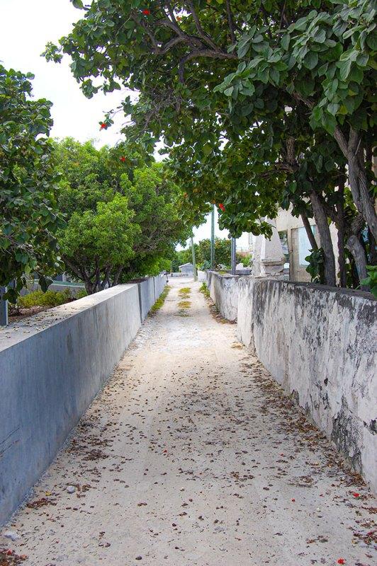 Lane in Grand Turks