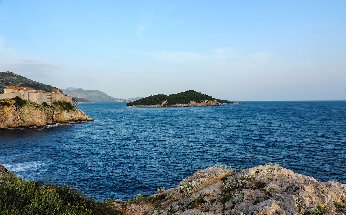 The island of Lokrum