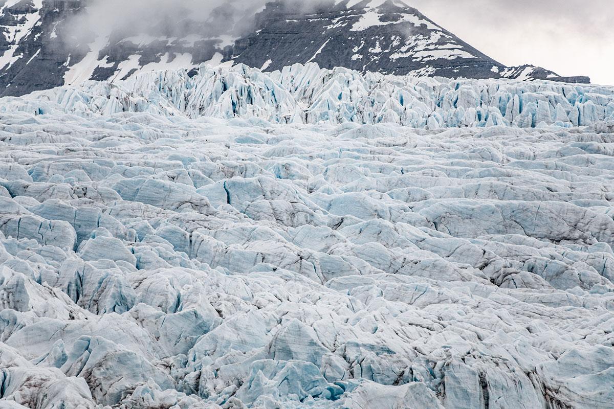 Glacier. Photo by Michael O. Snyder.