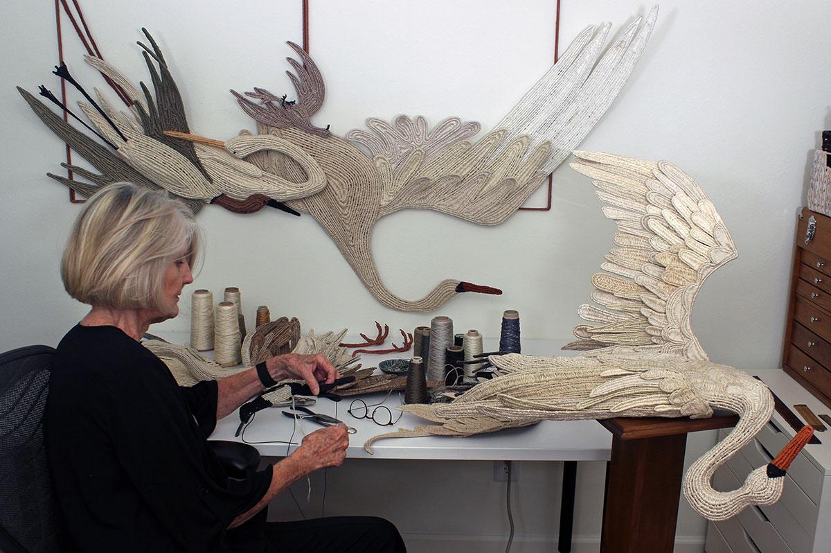 Carol Eckert and her art
