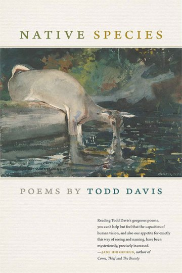 Native Species: Poems by Todd Davis