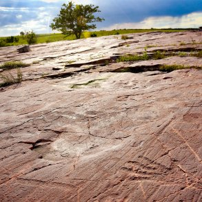 Jeffers Petroglyphs. Photo coutesy Minnesota Historical Society.